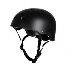 Шлем для роликов и самоката Clean. Черный