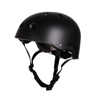 Шлем для роликов и самоката Clean. Черный в магазине Rollbay.ru