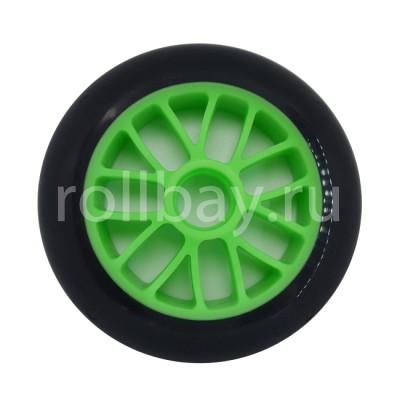 Колеса для роликовых коньков и самоката NoName black/white 120mm/85А в магазине Rollbay.ru