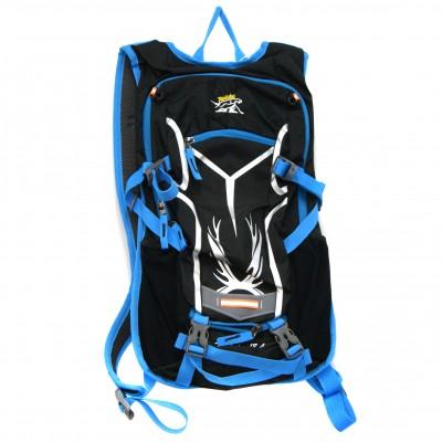 Рюкзак велосипедный с гидратором. Синий в магазине Rollbay.ru