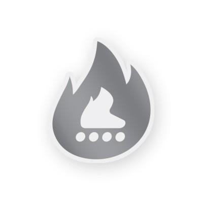 Термонаклейка светоотражающая. Огонь в магазине Rollbay.ru