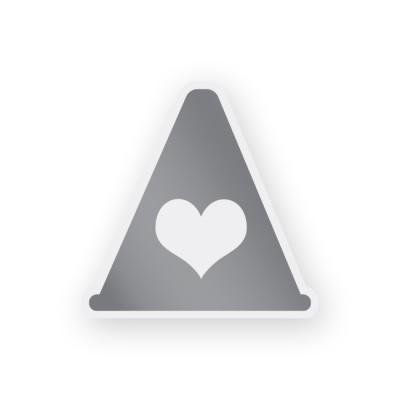 Термонаклейка светоотражающая. Сердце в магазине Rollbay.ru