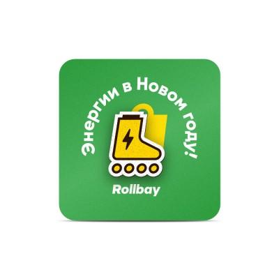 Значок (пин) Rollbay. Энергия в магазине Rollbay.ru