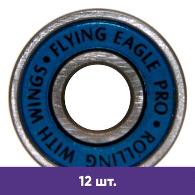 Подшипники для роликов Flying Eagle PRO  ABEC-9 (12 шт) в магазине Rollbay.ru