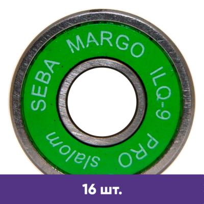 Подшипники для роликов Seba Margo ILQ-9 PRO slalom (16 шт) в магазине Rollbay.ru