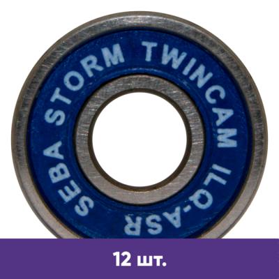 Подшипники для роликов Seba Storm RCRS Twincam (12 шт) в магазине Rollbay.ru