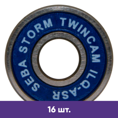 Подшипники для роликов Seba Storm RCRS Twincam (16 шт) в магазине Rollbay.ru