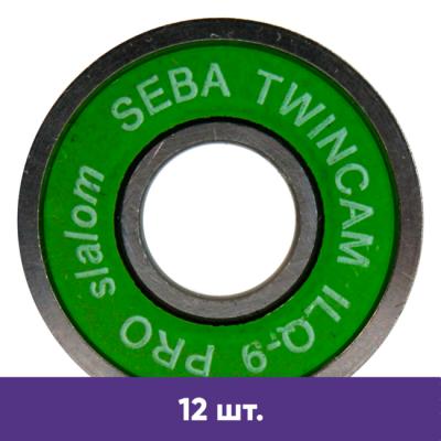 Подшипники для роликов Seba TWINCAM ILQ-9 PRO slalom (12 шт) в магазине Rollbay.ru
