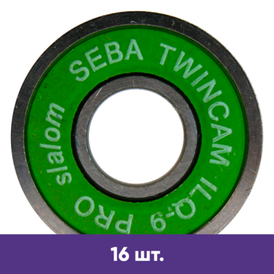 Подшипники для роликов Seba TWINCAM ILQ-9 PRO slalom (16 шт) в магазине Rollbay.ru