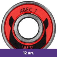 Подшипники для роликов Powerslide Wicked ABEC-7 (12 шт.)