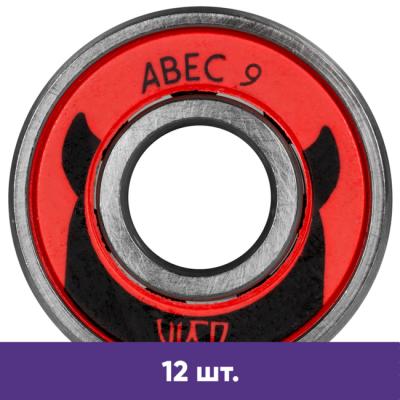 Подшипники для роликов Powerslide Wicked ABEC-9 (12 шт) в магазине Rollbay.ru