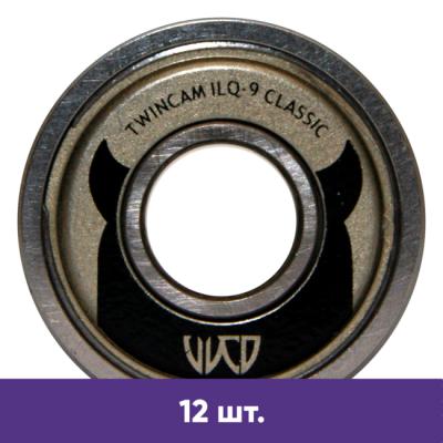 Подшипники для роликов PowerSlide Wicked TwinCam ILQ-9 Classic (12 шт) в магазине Rollbay.ru