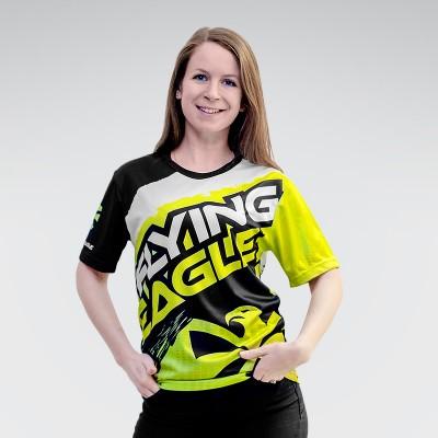 Футболка Flying Eagle Green в магазине Rollbay.ru