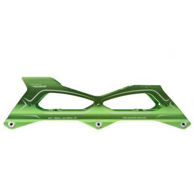Купить Рамы и ходовые в сборе Рамы для роликов PowerSlide Megacruiser PRO 125mm. Зеленый в магазине RollBay.ru