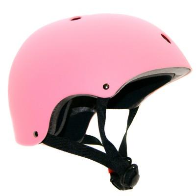 Шлем для роликов и самоката Clean. Розовый в магазине Rollbay.ru