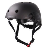 Шлем для роликов и самоката Flying Pro Skate Helmet. Серый