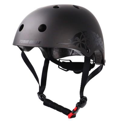 Шлем для роликов и самоката Flying Pro Skate Helmet. Серый в магазине Rollbay.ru
