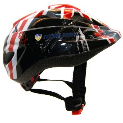Шлем для роликов и самоката детский Flying Eagle V5. Черный в магазине Rollbay.ru