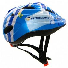 Шлем для роликов и самоката детский Flying Eagle V5. Синий