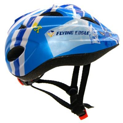 Защита  Шлем детский Flying Eagle V5. Синий