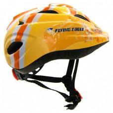 Шлем для роликов и самоката детский Flying Eagle V5. Желтый