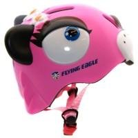 Шлем для роликов и самоката детский Flying Eagle Tigra monsters