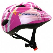 Шлем для роликов и самоката детский Flying Eagle V5. Розовый