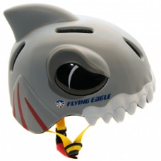 Шлем для роликов и самоката детский Flying Eagle Shark monsters