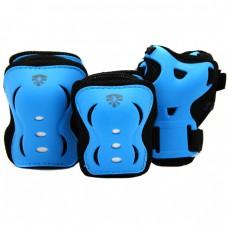 Защита для роликов детская Flying Eagle V5. Синий