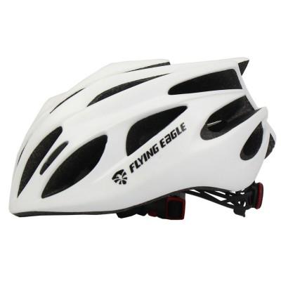 Шлем для роликов и самоката Flying Eagle Fast forward. Белый в магазине Rollbay.ru