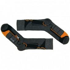 Носки для катания на роликах CoolMax M-Tag серо-оранжевые