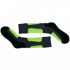 Носки для катания на роликах Glissade серо-зеленые