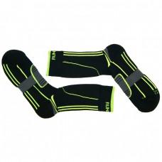 Носки для катания на роликах Running черно-зеленые