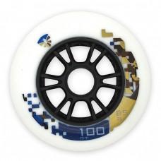 Колеса для роликов Flying Eagle Speed 100mm/85А. Белый