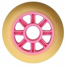 Колеса для роликов NoName 90mm/85А. Розовые
