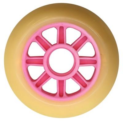 Колеса для роликов NoName 90mm/85А. Розовые в магазине Rollbay.ru