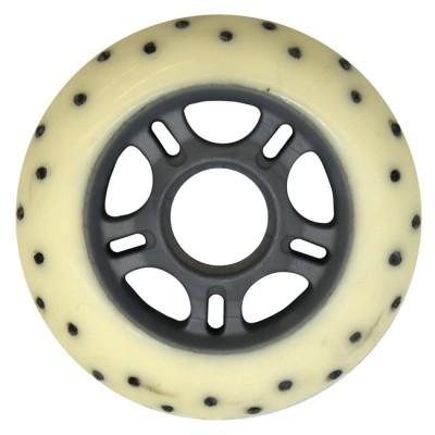 Колеса для роликовых коньков Spark 80mm/85A. Белый в магазине Rollbay.ru