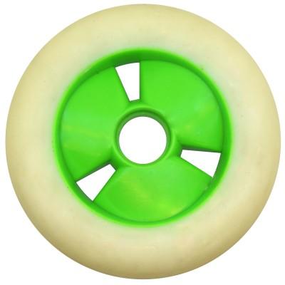 Колеса для роликов и самоката CodeWhite 110mm/85А (реплика). Белый в магазине Rollbay.ru