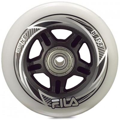Колеса для роликов Fila 84mm/83A Колеса/Втулки 8мм/Подшипники. Набор в магазине Rollbay.ru