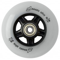 Колеса для роликов Fila 90mm/83A Колеса/Втулки 8мм/Подшипники. Набор