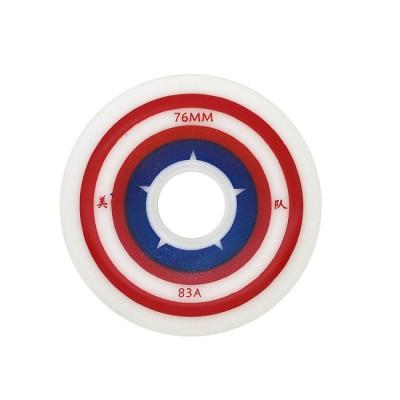 Колеса для роликовых коньков Captain America 72-76mm/83А в магазине Rollbay.ru