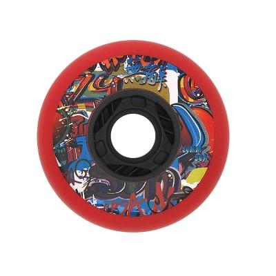 Колеса для роликовых коньков Fallen 80mm/90А. Красный в магазине Rollbay.ru
