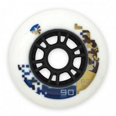 Колеса для роликов Flying Eagle Speed 90mm/85А. Белый