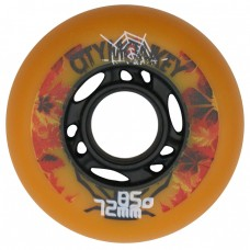 Колеса для роликов CityMonkey 72-76mm/85A. Оранжевый