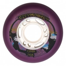 Колеса для роликов CityMonkey 72-80mm/90A. Фиолетовый