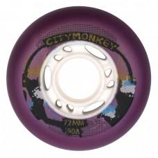 CityMonkey 72-80mm/90A. Фиолетовый