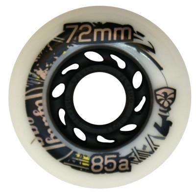 Колеса для роликов детские Flying Eagle Junior 68-72mm/85А. Золотой в магазине Rollbay.ru
