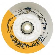 Колеса для роликов светящиеся Flying Eagle LazerWheelz 72-80mm/88A. Оранжевый