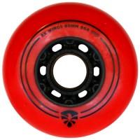 Колеса для роликов Flying Eagle RX Wings 72-80mm/86A. Красный