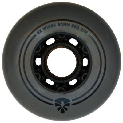 Колеса для роликовых коньков Flying Eagle RX Wings 72-80mm/88A. Серый в магазине Rollbay.ru